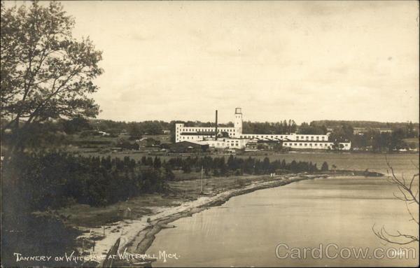 Tannery on White Lake Whitehall Michigan