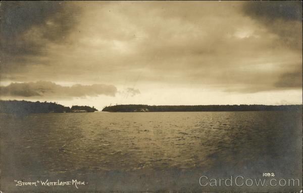 Storm, White Lake Whitehall Michigan