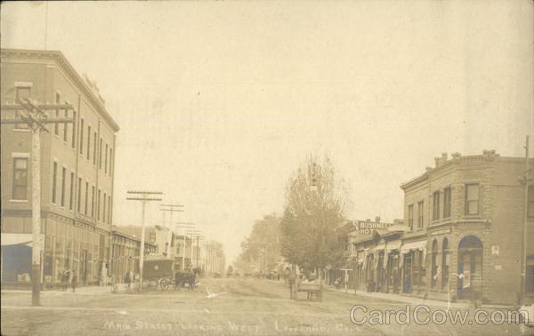 Main Street Looking West Loveland Colorado