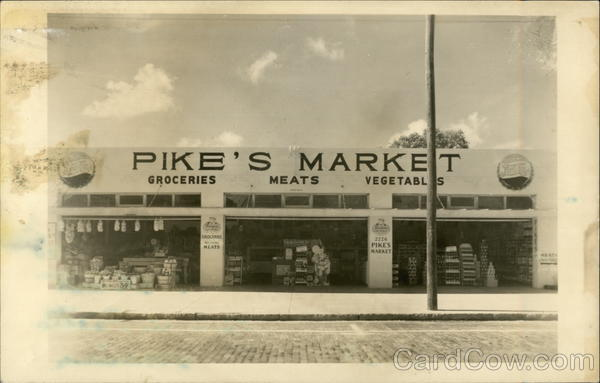 Pike's Market Advertising