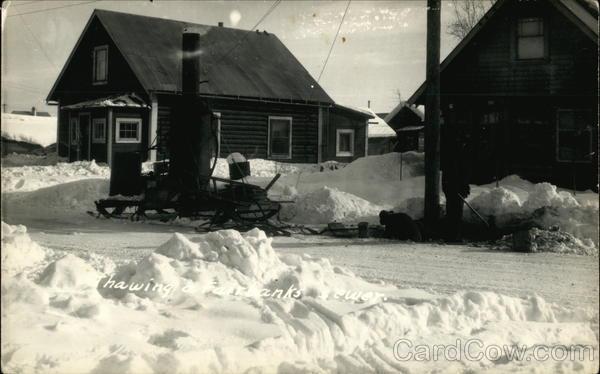 Thawing a Fairbanks Sewer Alaska