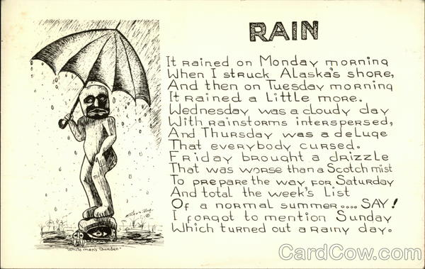 Rain Phrases & Sayings