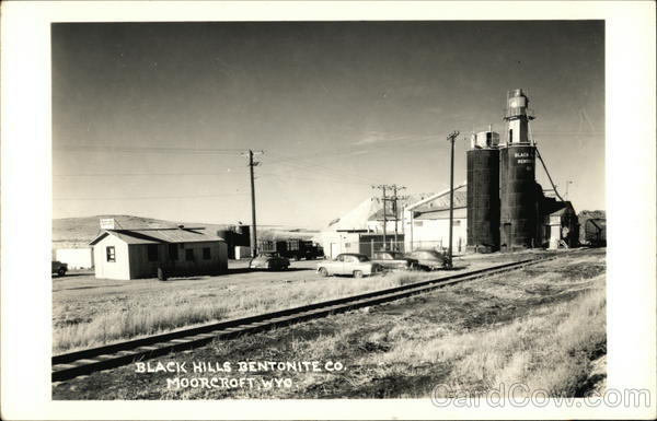 Black Hills Bentonite Co. Moorcroft Wyoming
