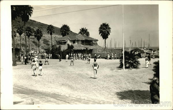 People on the Beach of Catalina Island Santa Catalina Island California