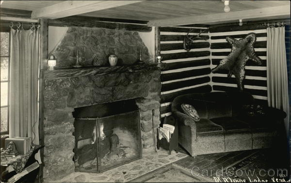 Lodge with a Fireplace Travel