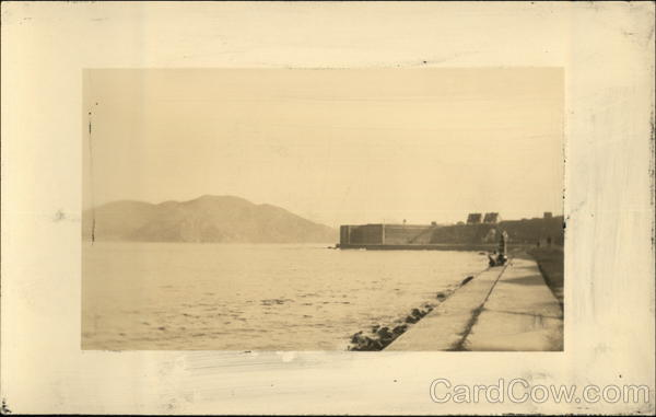 Old Fort at Golden Gate, Looking West San Francisco California