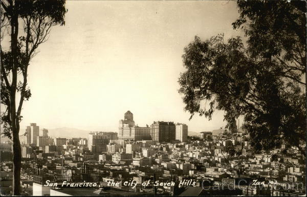 The City of Seven Hills San Francisco California Zan