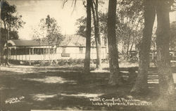Point Comfort Pavilion, Lake Nippersink Postcard
