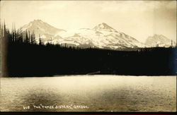 The Three Sisters Mountains, Deschutes National Forest