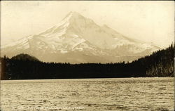 Mt. Hood from Lost Lake, Oregon.