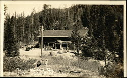 Top-o'-the-Hill Tavern at Blewett Pass in the Cascade Mountains