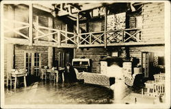 Dining Room, Top-o-the-Hill Inn, Blewett Pass