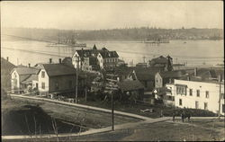 Boats in the Water at Bremerton, Washington