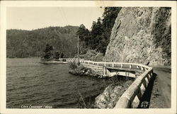 Lake Crescent and Road