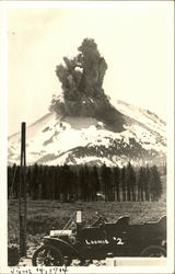 Lassen Peak Eruption, June 14, 1914