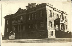 Crook County Court House Postcard