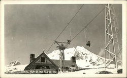 Silcox Hut at the Top of the Ski Lift