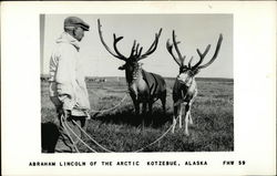 Abraham Lincoln of the Arctic - Man with Reindeer