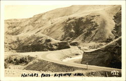 Hatches or Naches Pass Highway