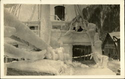SS North Western Frozen in Ice