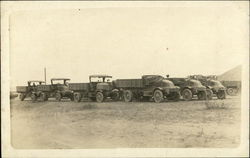 Group of Old Trucks