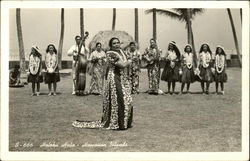 Holoku Hula - Women in Native Dress