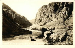 Wind River Canyon - US Highway No. 20