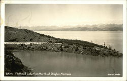 Flathead Lake From North