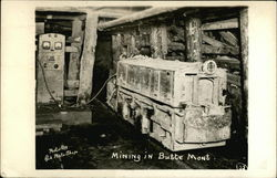 Mining in Butte, Mont.