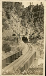 Great Northern Tunnel - Wolf Creek Canyon