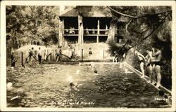 Swimming Pool At Idyllwild Pines