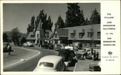 The Village of Lake Arrowhead California in the San Bernardino Mountains
