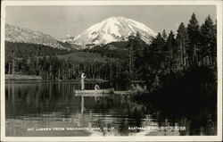 Mt. Lassen from Manzanita Lake, Calif.