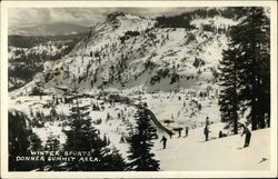 Winter Sports - Donner Summit Area