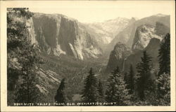 Yosemite Valley from Old Inspiration Point