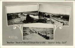 """New River"" Results of Flood of Colorado River in 1906"