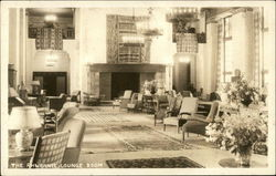 The Ahwahnee Lounge Room