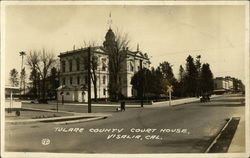 Street View of Tulare County Court House
