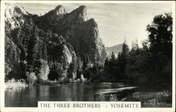 The Three Brothers - Yosemite