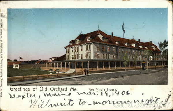 Greetings of Old Orchard Old Orchard Beach Maine