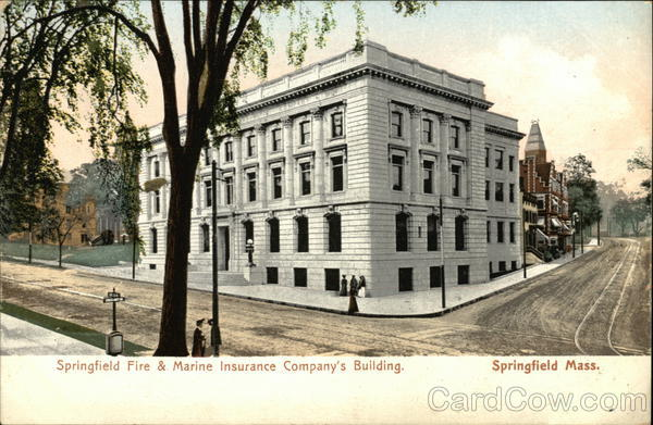 Springfield Fire & Marine Insurance Company's Building Massachusetts
