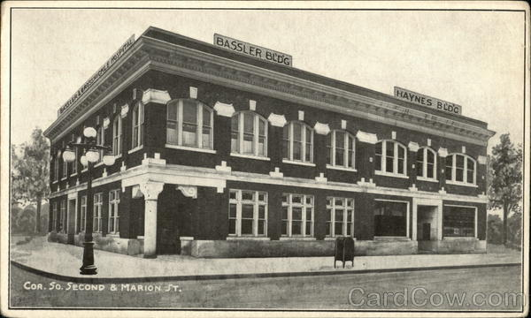 Bassler & Haynes Building - 2nd and Marion St. Elkhart Indiana