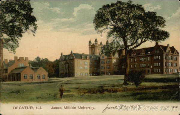 James Millikin University and Grounds Decatur Illinois