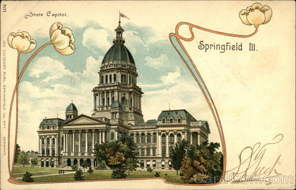 State Capitol Springfield Illinois