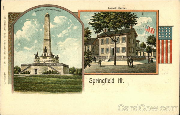 Lincoln Monument and Lincoln Home Springfield Illinois
