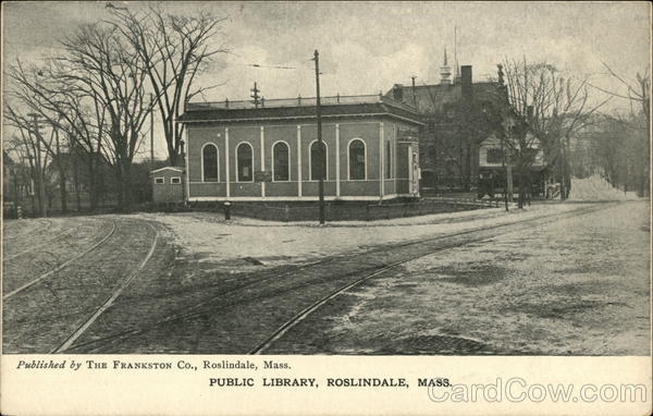 Public Library Roslindale Massachusetts