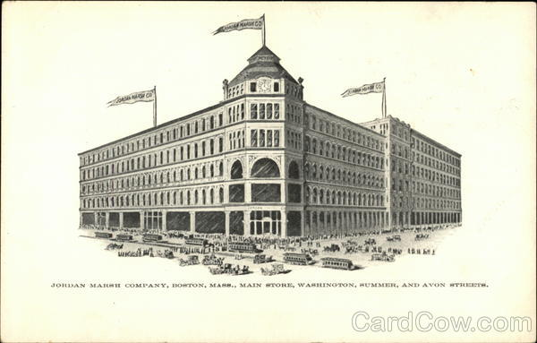 Main Store - Jordan Marsh Company Boston Massachusetts