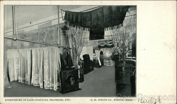 Everything in Lace Curtains, Draperies - R.H. White Co. Boston Massachusetts