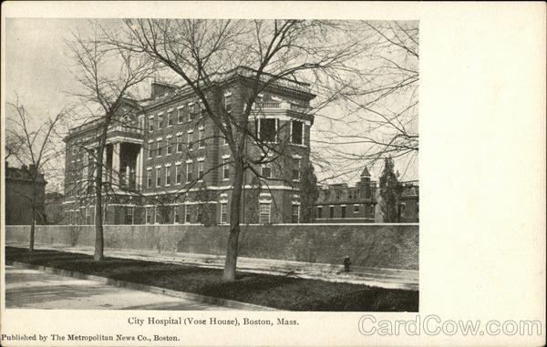 City Hospital, Vose House Boston Massachusetts
