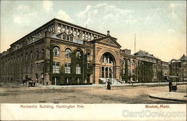 Mechanics Building, Huntington Ave. Boston Massachusetts